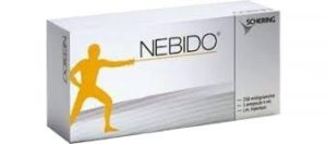 Nebido is testosterone replacement therapy for the treatment of ED